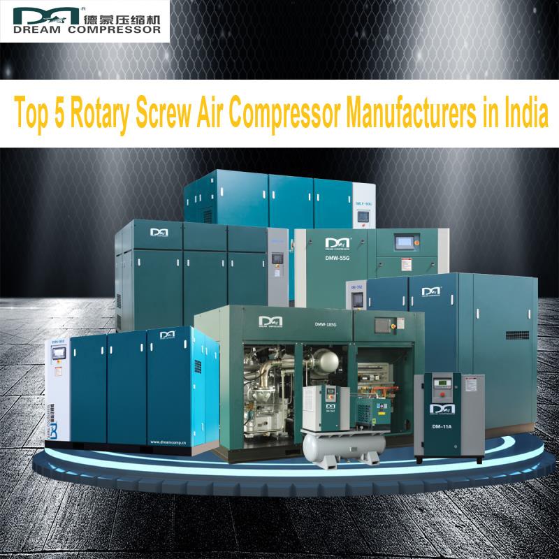 Top 5 Rotary Screw Air Fabricants de compresseurs en Inde-tony