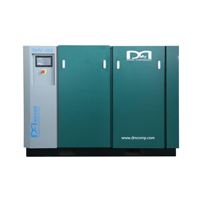 Compresseur d'air à vis à vitesse variable magnétique permanent à deux étages