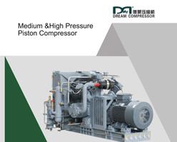 Brochure sur les compresseurs d'air à piston moyenne et haute pression