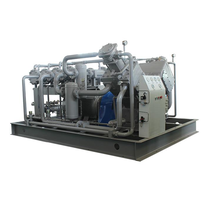 Compresseur d'air à piston sans huile moyenne et haute pression (25-400bar)