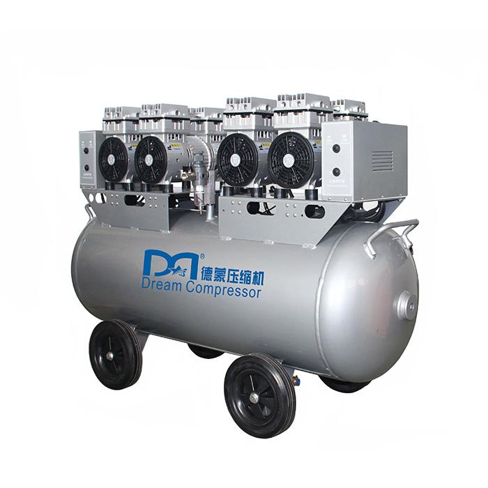 Compresseur d'air à piston sans huile