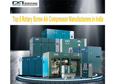 Top 5 des fabricants de compresseurs d'air rotatifs à vis en Inde-Tony