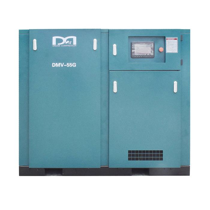 Compresseur d'air à vis à vitesse variable magnétique permanent à un étage