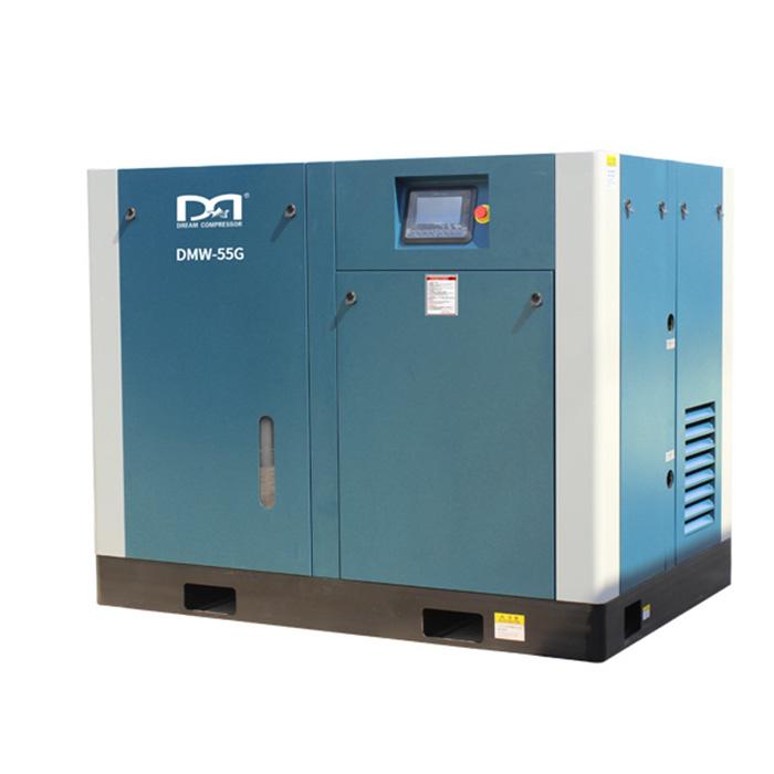 Compresseur d'air à vis à vitesse fixe lubrifié à l'eau sans huile